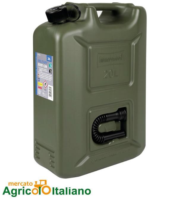 Tanica militare c/travasatote 20L Lampa