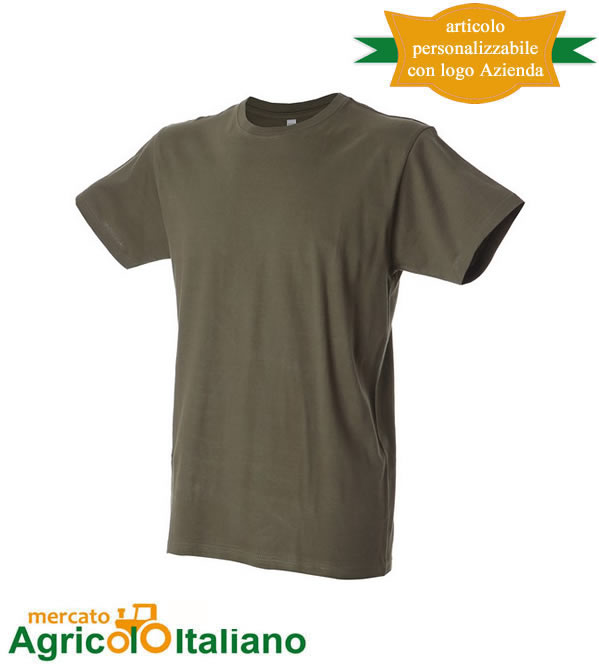 T-shirt Jame Ross Collection mod. Argentina Man - colore army green