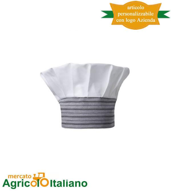 Cappello cuoco Saturno Taglia unica vari colori