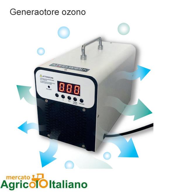 Generatore di Ozono professionale per aria e acqua