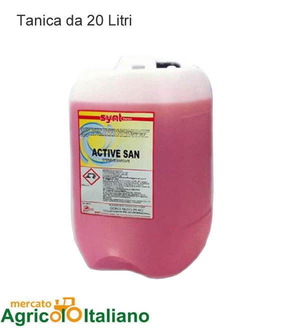 Detergente igienizzante professionale. Tanica da 20 lt.