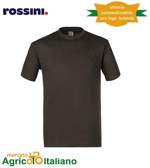 T-shirt Take Time girocollo 100% cotone - Antracite