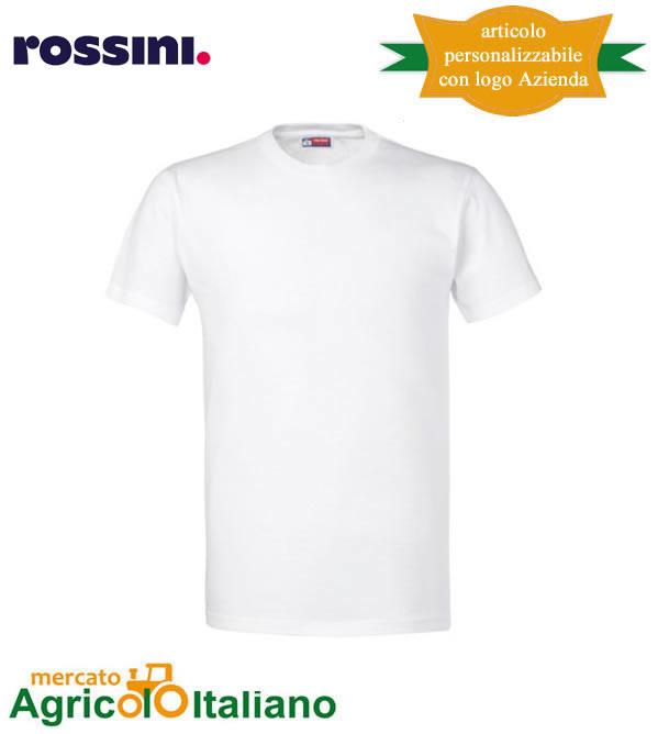 T-shirt Take Time girocollo 100% cotone - Bianca
