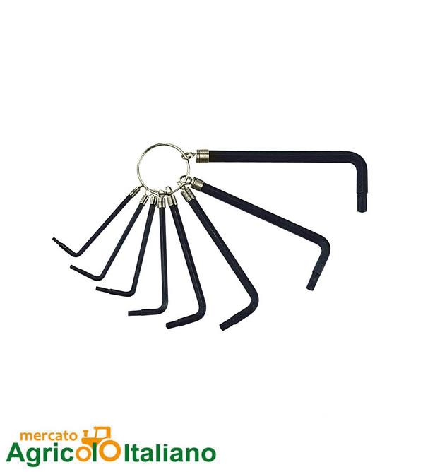 Set 8 Pz chiavi Torx Lampa
