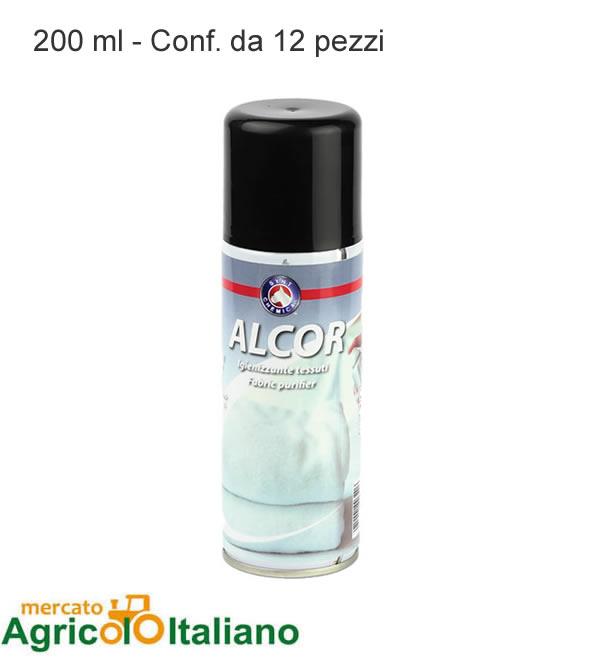 Igienizzante tessuti spry Alcor ml. 200 Conf. 12 pezzi