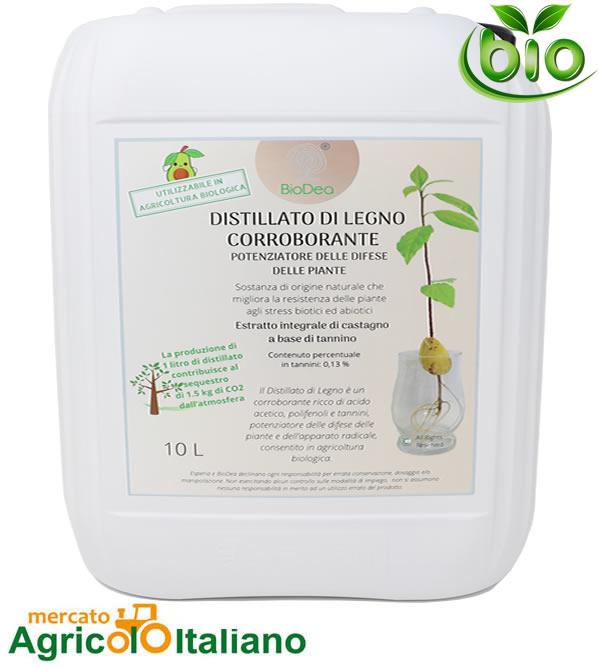BioDea Distillato legno corroborante Cnf.10Lt