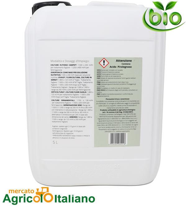 BioDea Distillato legno corroborante Cnf.5Lt